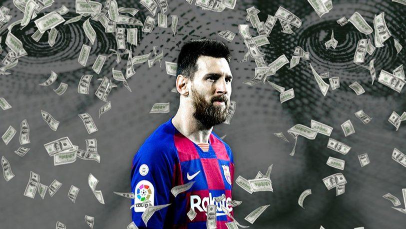 Messi es el futbolista que más dinero ganó en 2020