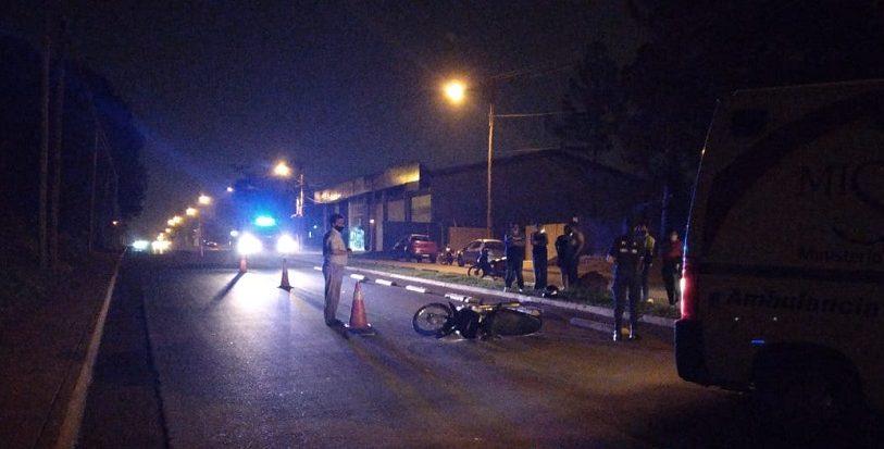 Falleció un motociclista que derrapó en Posadas