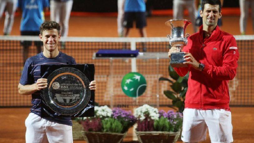 Schwartzman no pudo ante Djokovic en la final del Masters 1000 de Roma