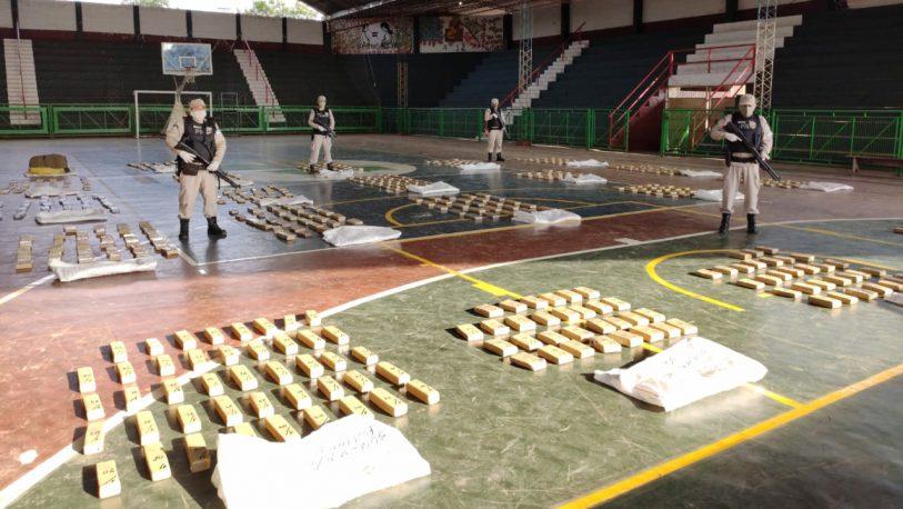 Prefectura secuestró más de 580 kilos de marihuana