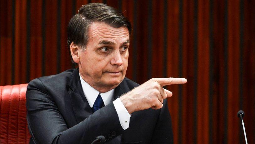 Se filtró un vídeo de Bolsonaro insultando a la prensa
