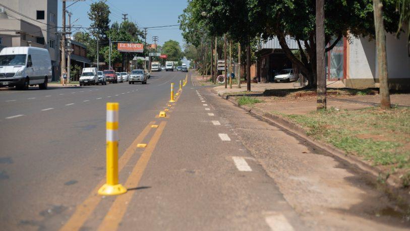 Posadas cuenta con 72 cuadras de ciclovías