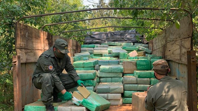 Secuestraron casi 9 toneladas de droga en Gobernador Roca