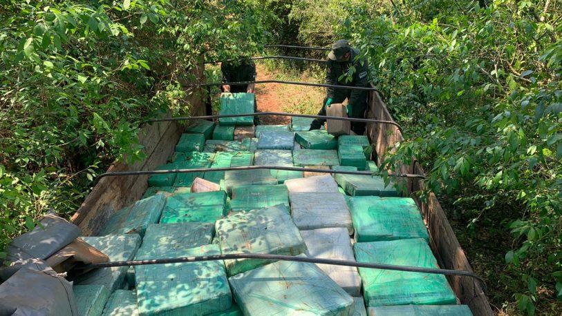 Tras el secuestro de más de ocho toneladas de marihuana, detuvieron a un sicario paraguayo