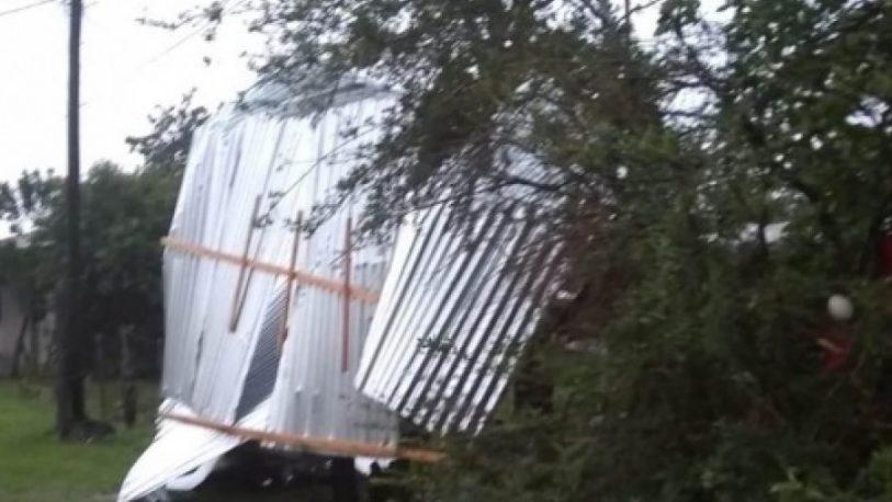 Varias localidades de Corrientes afectadas por las fuertes tormentas