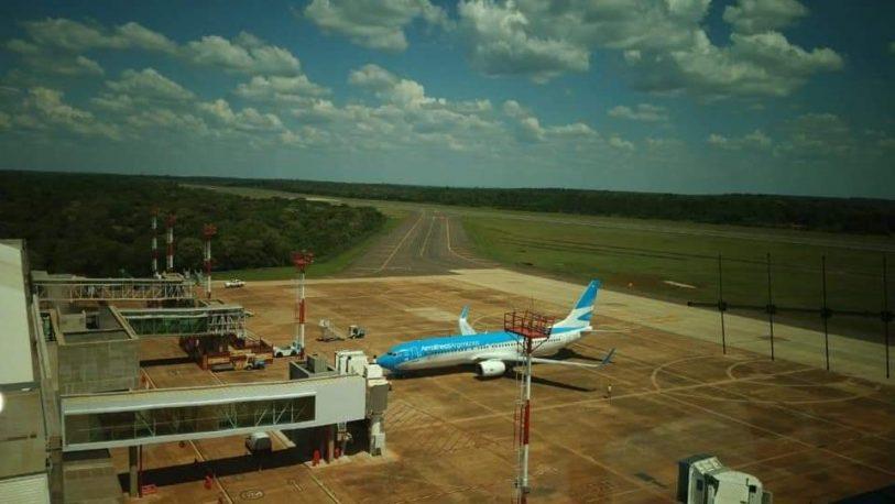 Tras varios meses, volvieron los vuelos a Iguazú