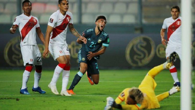 Argentina fue efectivo y le ganó a Perú en Lima