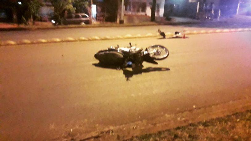 Choque entre camioneta y moto dejó un hombre fallecido en Alem