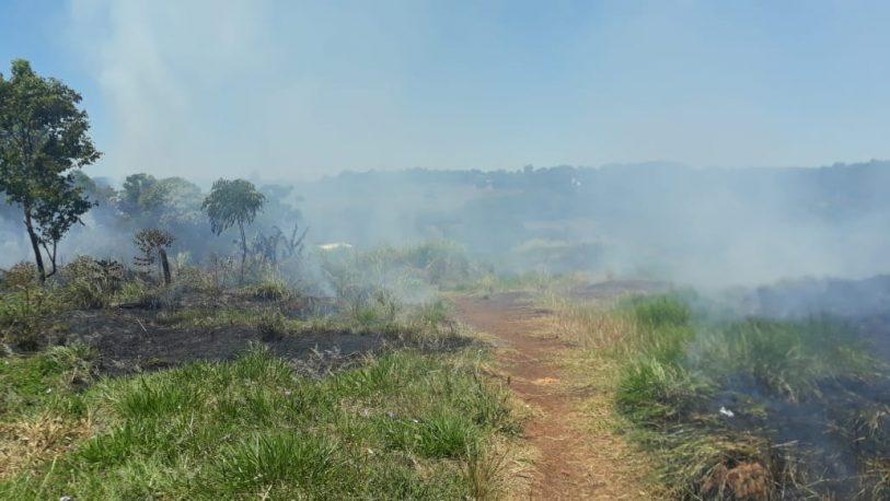 Rige alerta Amarilla por peligrosidad de incendio en Posadas
