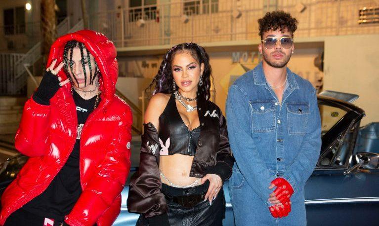 """Khea lanzó el remix de """"Ayer me llamó mi ex"""" junto a Natti Natasha y a Prince Royce"""