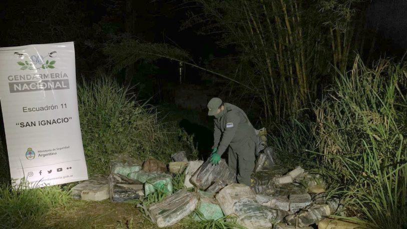 Secuestraron cerca de dos toneladas de marihuana en Oro Verde