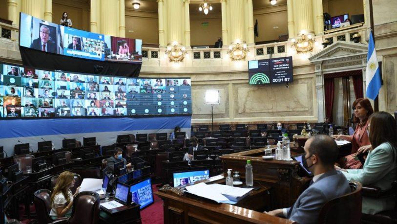 Con el voto de Closs y Solari, prorrogaron las sesiones virtuales en el Senado