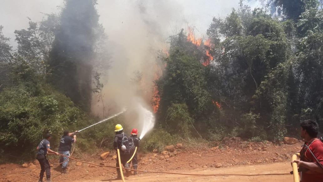 Bajaron los índices de incendios, pero solicitan no realizar ningún tipo de quemas