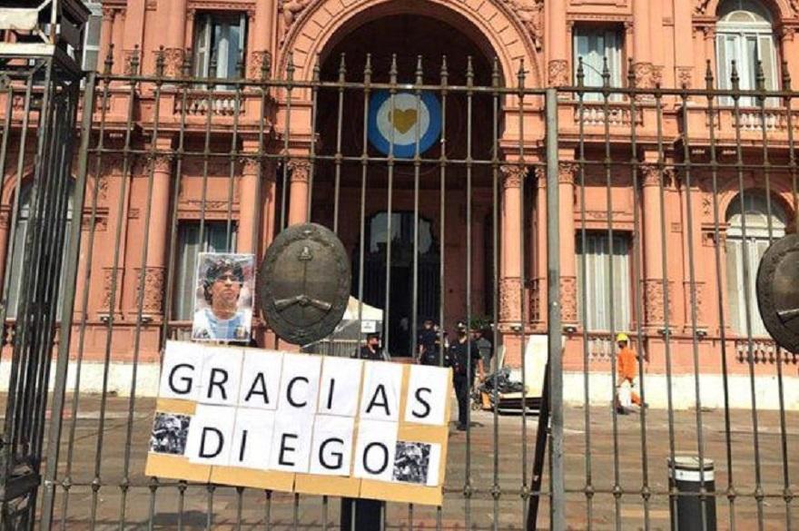 El velatorio de Maradona será en Casa Rosada