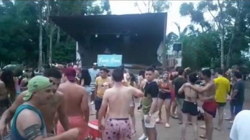 Dos nuevas fiestas clandestinas, esta vez en Itacaruaré y San Javier