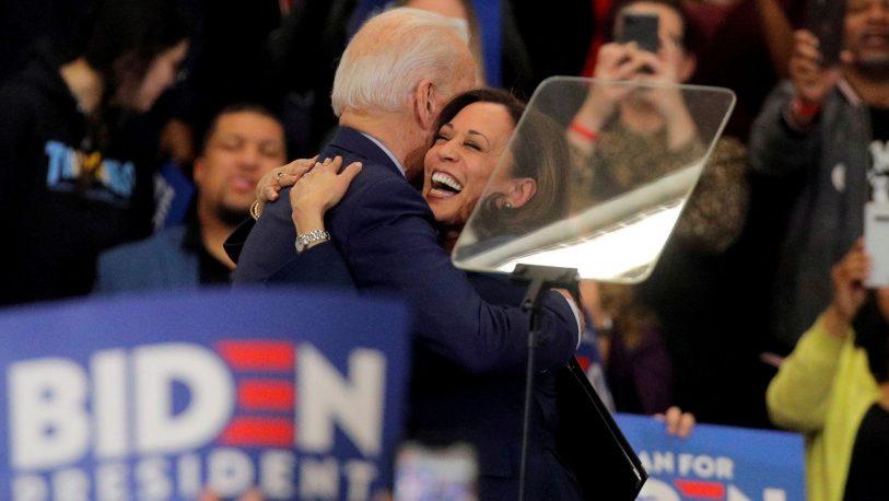 """Joe Biden y Kamala Harris fueron elegidos """"Personalidades del Año"""""""