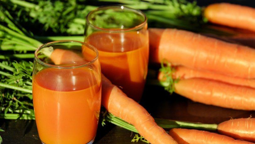 Jugo de zanahoria y naranja para embarazadas