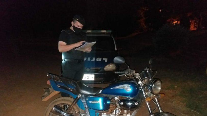 Una moto robada del corralón de Alem fue vendida en Guaraní