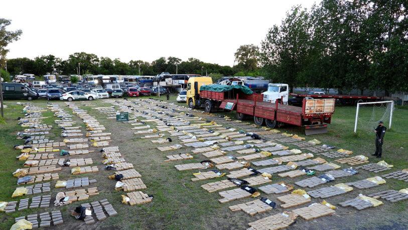 Desarticulan organización narco e incautan más de cinco toneladas de marihuana