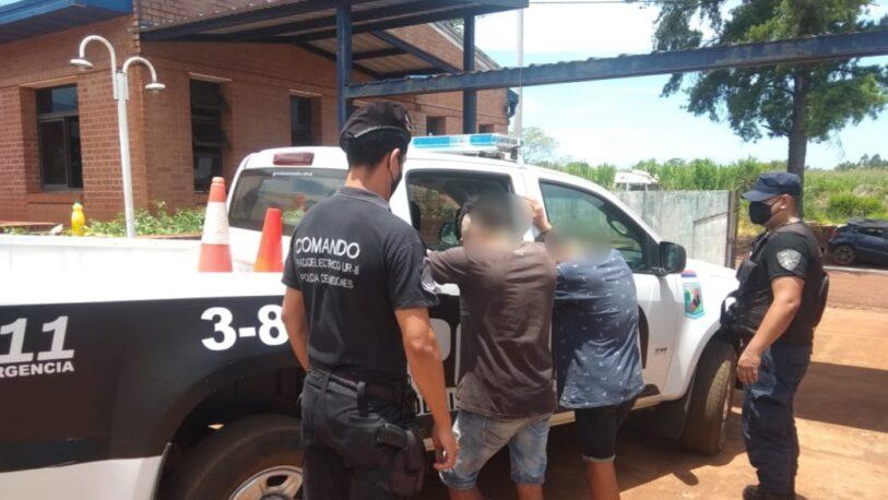 Recapturaron a tres evadidos de la comisaría 3ra de Eldorado