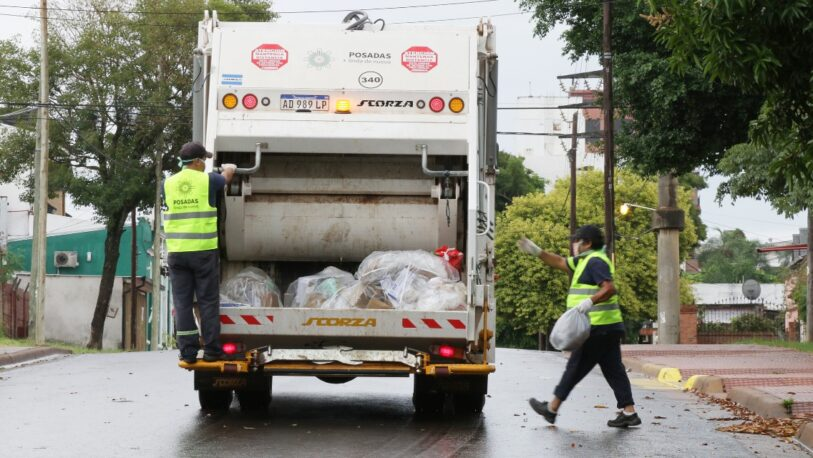 Recolección de residuos normal el fin de semana largo