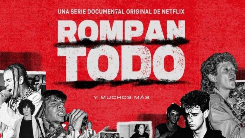 """Netflix estrena """"Rompan Todo"""" documental que narra la historia del rock en América Latina"""