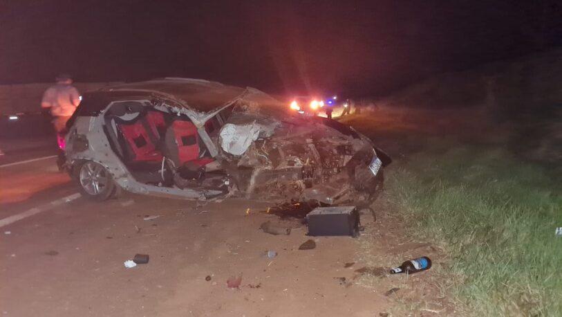 Virasoro: brutal choque dejó tres personas fallecidas