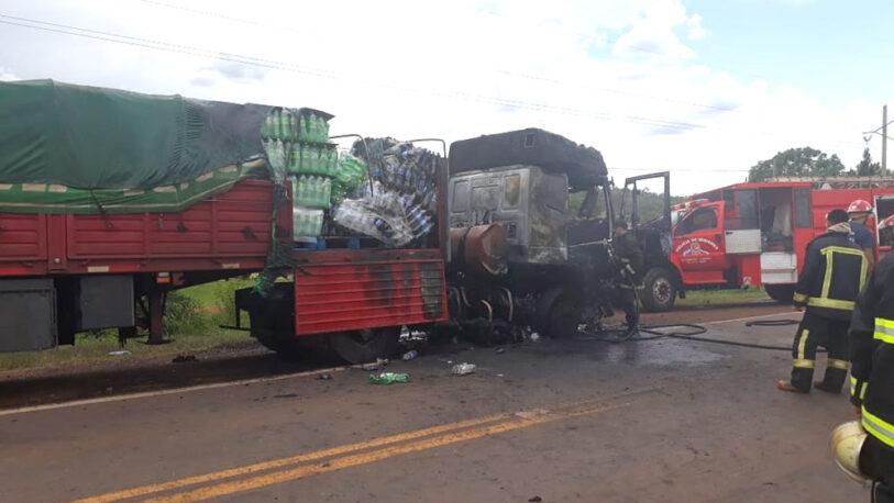 Siniestro y explosión en la ruta dejó un joven fallecido