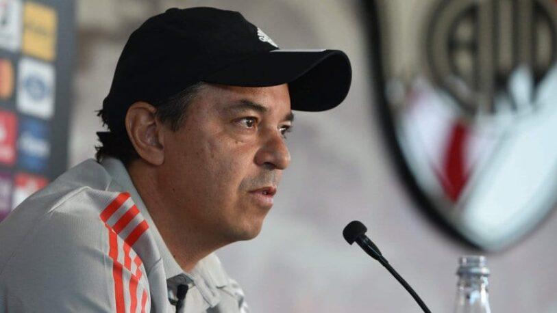 """Gallardo, sobre si el VAR ayuda a River: """"Quieren desestabilizar"""""""