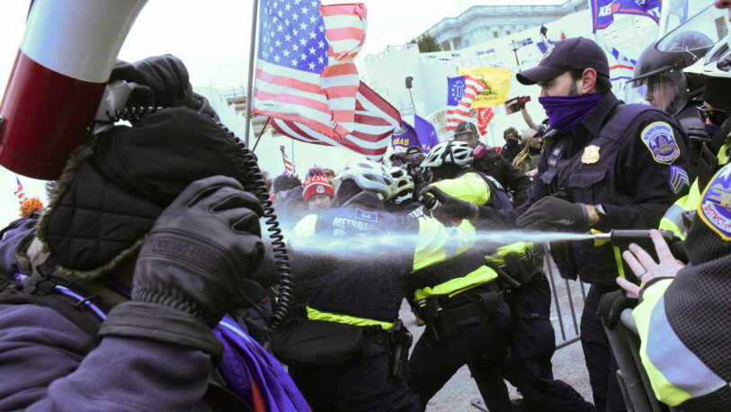 Estados Unidos: Manifestantes en favor de Trump invadieron el Capitolio