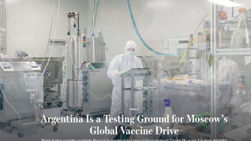 """Para The Wall Street Journal, la Argentina es un """"campo de pruebas"""" de la vacuna rusa"""