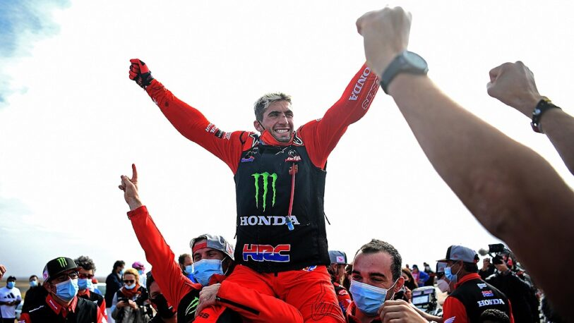 Benavides ganó el Rally Dakar 2021 en motos