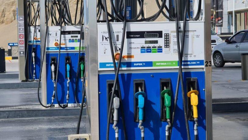YPF aumenta sus combustibles por segunda vez en el mes
