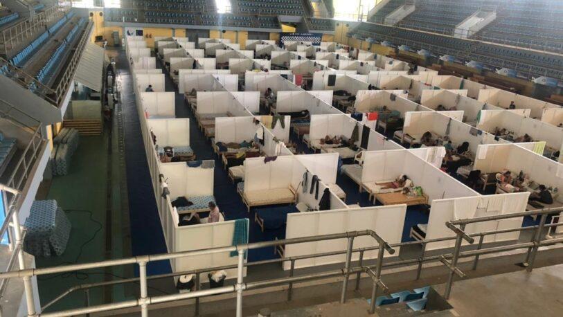 Covid-19: Incidentes y reclamos en el centro de aislamiento de Formosa