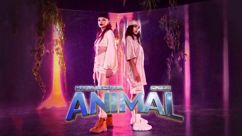 María Becerra y Cazzu estrenaron 'Animal'