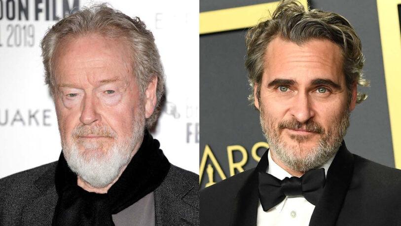 Ridley Scott filmará la vida de Napoleón con Joaquin Phoenix