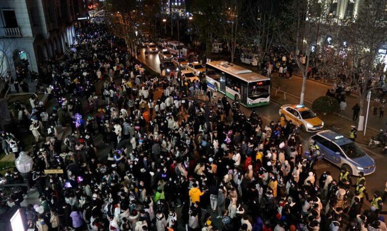 Donde nació el coronavirus:  Wuhan, recibió el año con las calles repletas de gente
