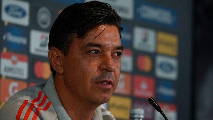 ¿Qué dijo Gallardo sobre la chance de ser entrenador del Barcelona?