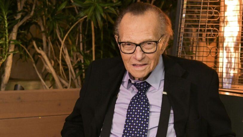 Falleció el legendario presentador Larry King