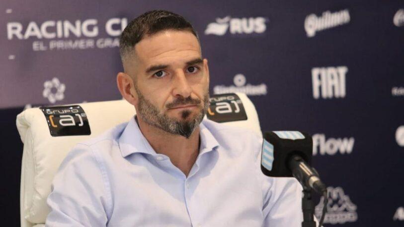 Lisandro López anunció su salida de Racing
