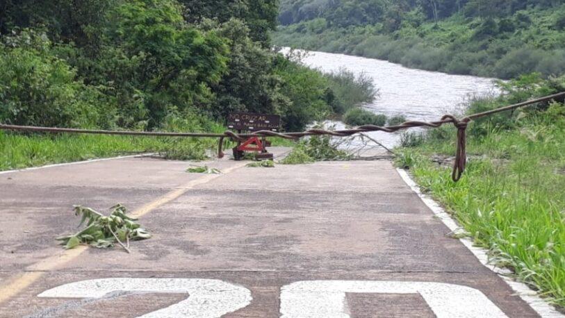 Cerraron el acceso a los Saltos del Moconá