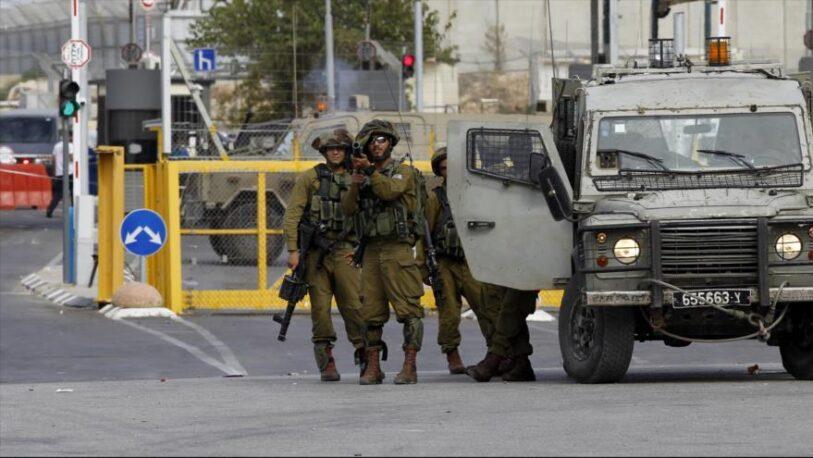 Israel mató a un palestino en supuesto ataque a soldados