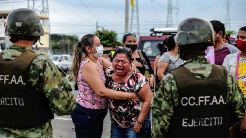 Más de 70 muertos tras ataques en cárceles de Ecuador