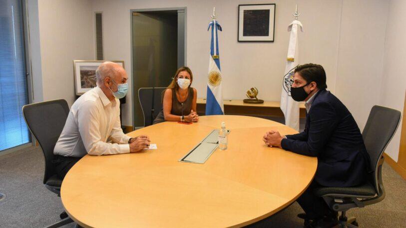 Reunión entre Rodríguez Larreta y Trotta por la vuelta a clases presenciales