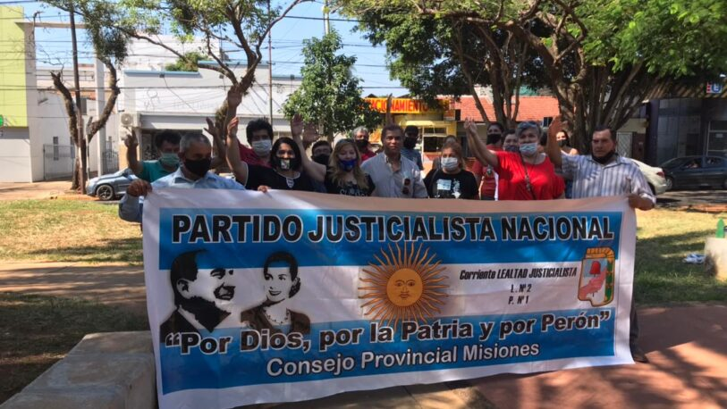Solicitaron a la justicia federal de Posadas, la restitución del PJ