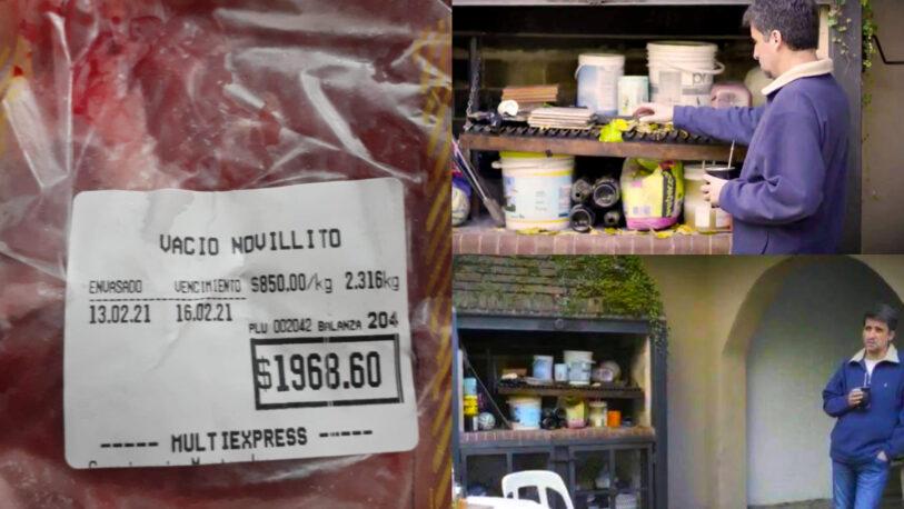 """""""Asado perdido"""": Pese al acuerdo de precios para la carne, en Posadas se vende el kilo a más de $800"""