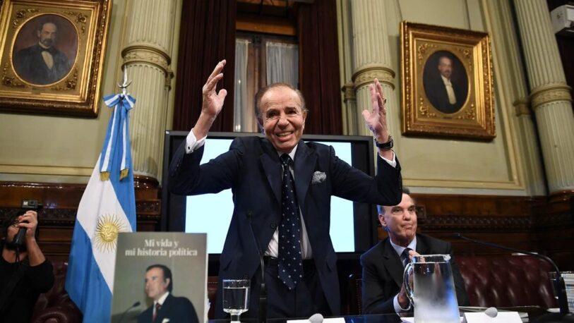 Tres días de duelo por la muerte de Carlos Menem