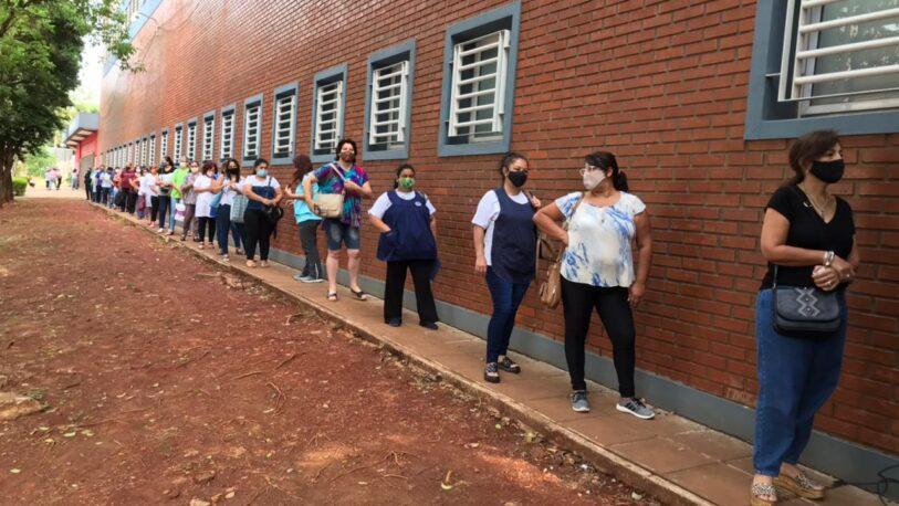 En Junio subieron un 64%, los contagios de Covid-19 entre trabajadores de la educación