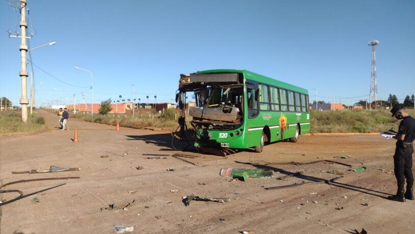 Cinco mujeres resultaron lesionadas tras un choque en Posadas
