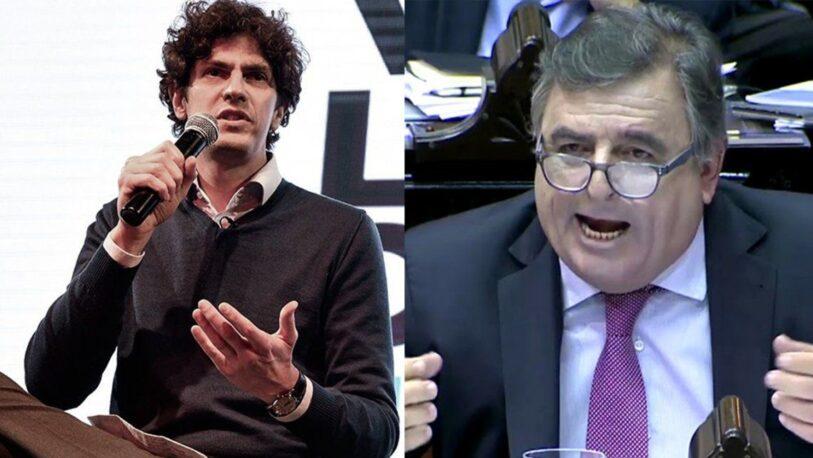 Fuerte cruce entre Martín Lousteau y Mario Negri